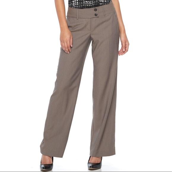 42c6dc9f0d375 Women s Apt 9 Wide Leg Dress Pants Size 12
